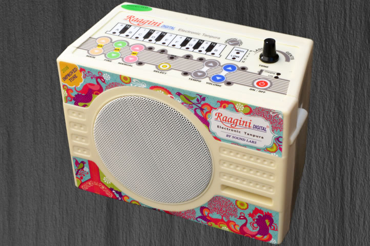 Raagini Digital, Electronic Tanpura : 2016 Improved Tone