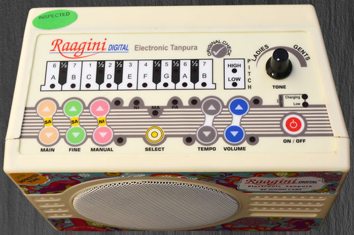 Raagini Digital Electronic Tambura 2016 Model